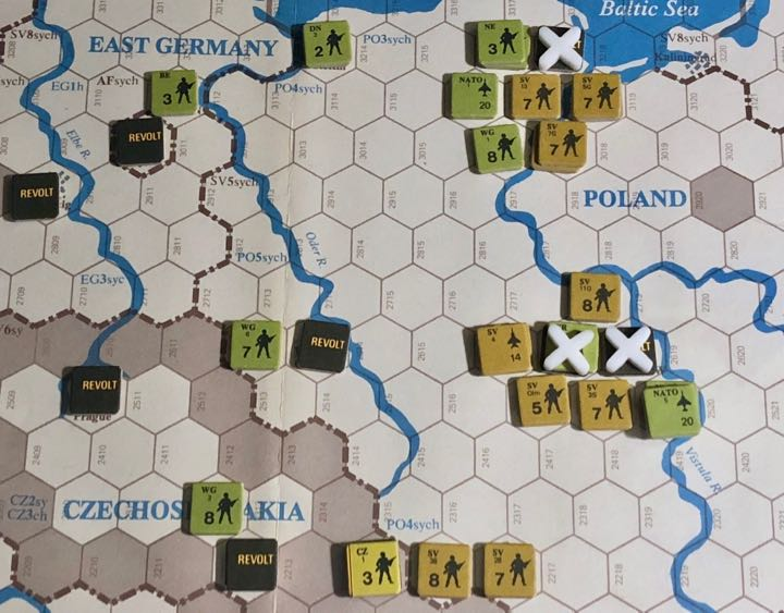 Revolt in the East, Turn 10, Soviet Encirclements around Warsaw