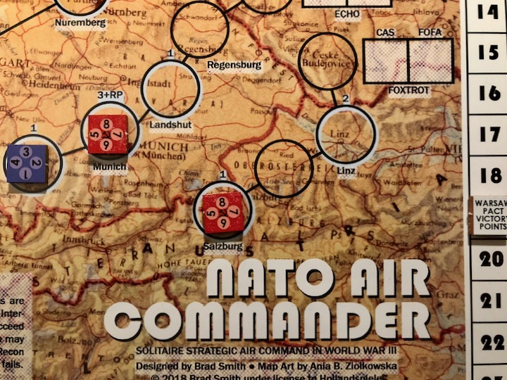 NATO Air Commander, Successful Warsaw Pact Ground Attacks