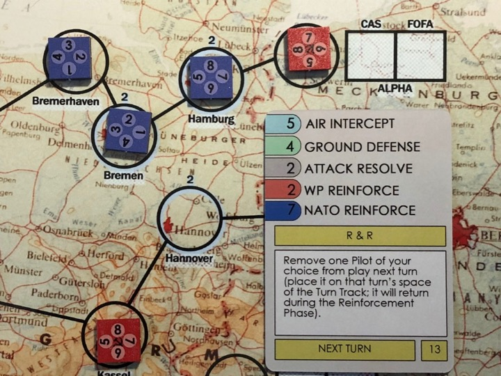 NATO Air Commander, Resolution Card Example
