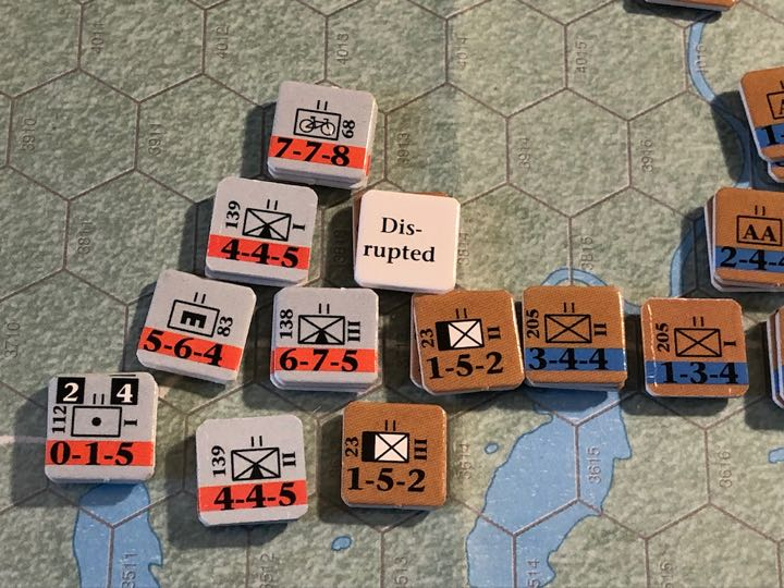Murmansk 1941, Turn 5, 3rd Mountain spreads out near the Titovka