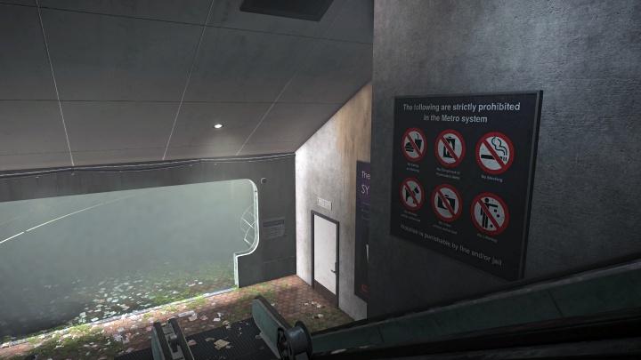 To be fair, Metro's escalators don't really break that often