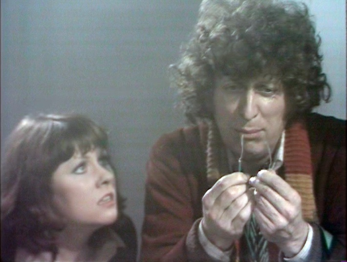 The fate of the Daleks in his hands