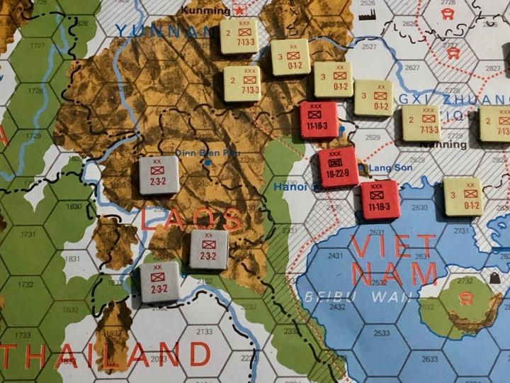 The China War, Sino-Vietnamese Border