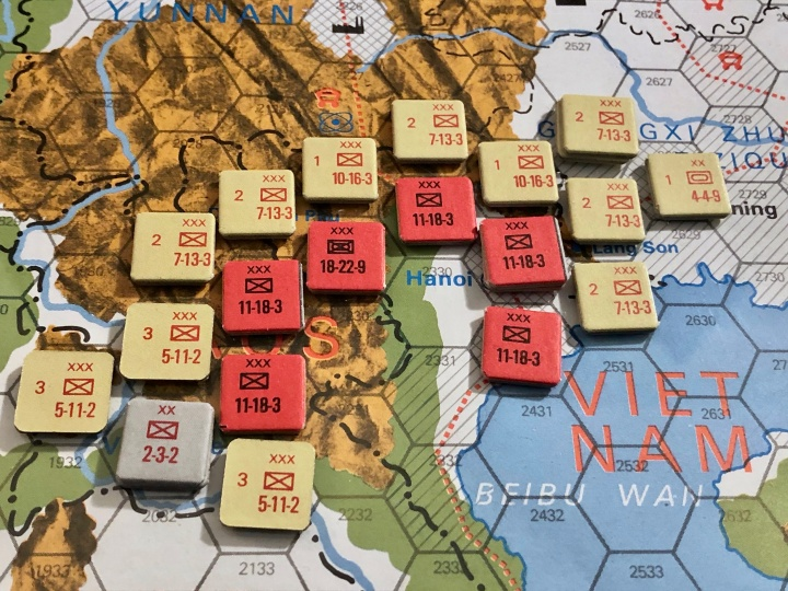 The China War, Objective Hanoi!, Situation End of Game