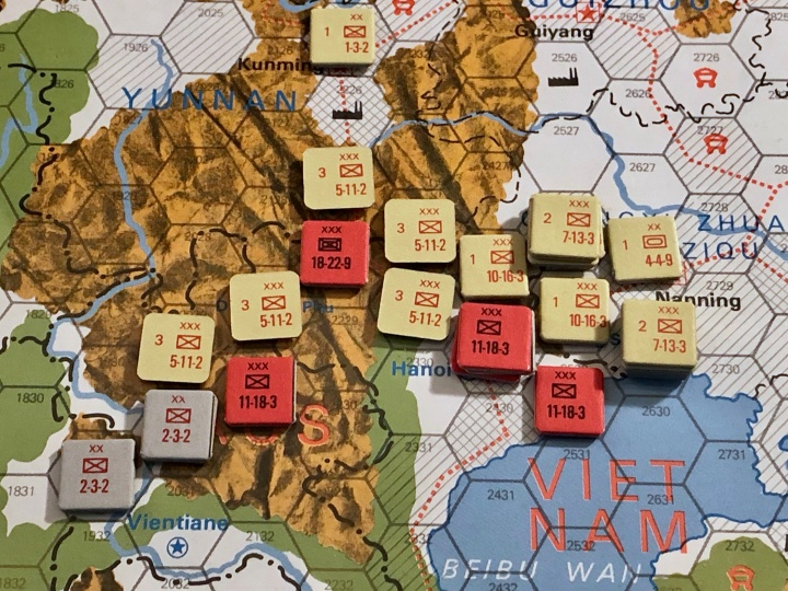 The China War, Objective Hanoi!, Situation End of Turn 2