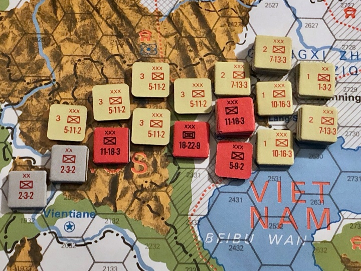 The China War, Objective Hanoi!, Situation End of Turn 3