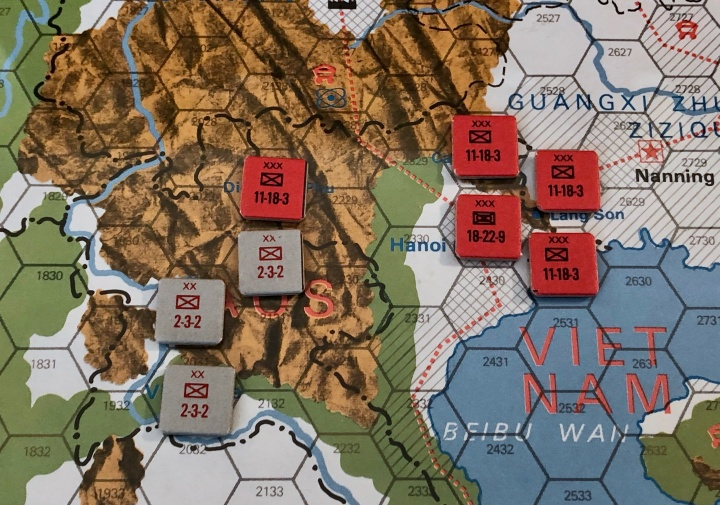 The China War, Objective Hanoi!, Vietnamese/Laotian Setup