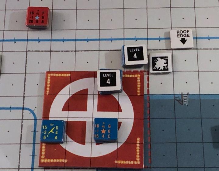 James Bond Assault! Game, Helipad Counter Detail
