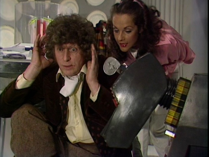 The TARDIS crew in happy times