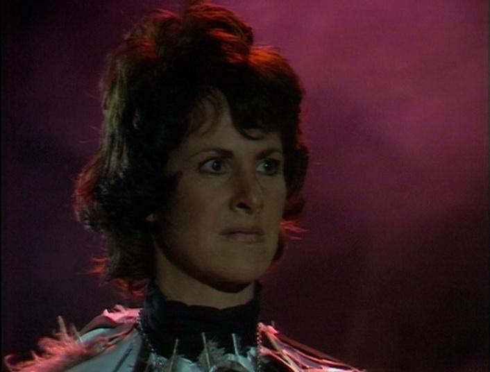 Susan Engel as the Cailleach