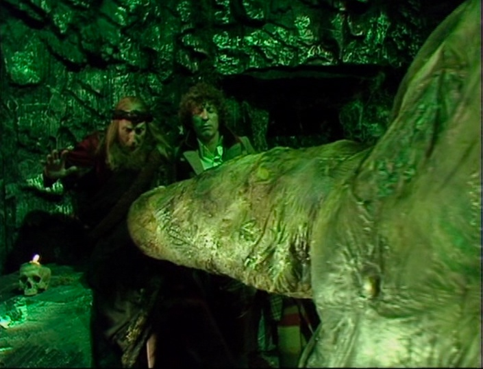 Organon and the Doctor encounter the Creature first, um, hand