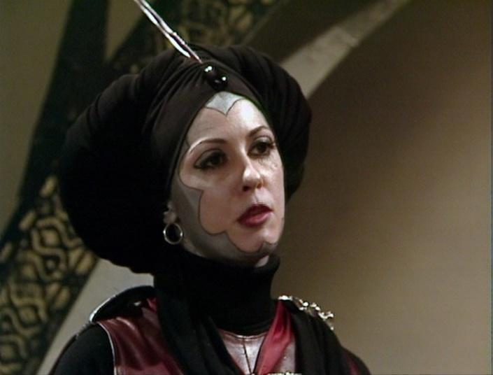 Myra Frances as Lady Adrasta