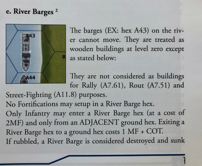 River Barges!