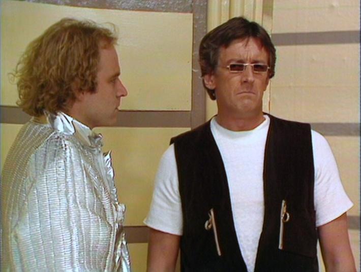 Dymond (Geoffrey Bateman) and Tryst (Lewis Fiander)