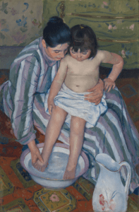The Bath, Mary Cassatt (1893)