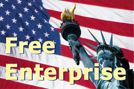 Free Enterprise Free-Markets Ethical Capitalism