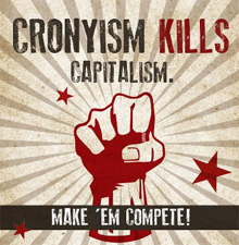 Cronyism Undermines Capitalism and Free Markets