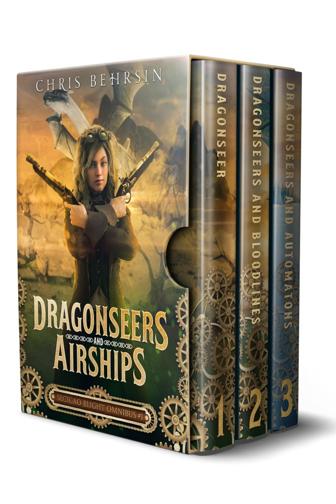 Book Cover: Dragonseers and Airships