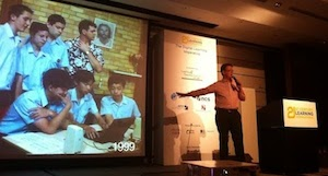 Giving the closing keynote at the 21st Century Learning Conference in Hong Kong.