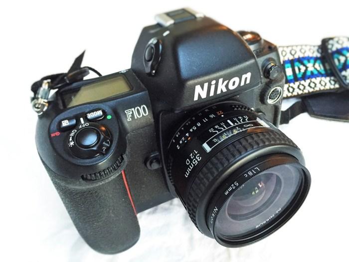 Nikon F100 film camera