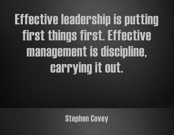 Stephen-Covey-Effective-leadership-is