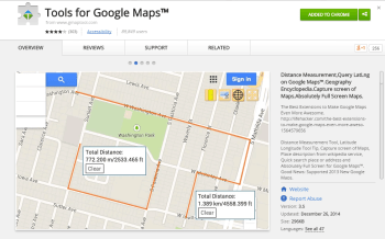 Tools for Google Maps™   Chrome Web Store