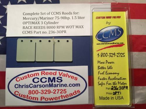 small resolution of ccms mercury mariner race outboard reed 70 90hp 1 5 liter optimax 3 cylinder pn 236 3opr