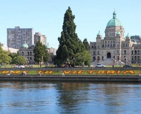 Victoria in British Columbia
