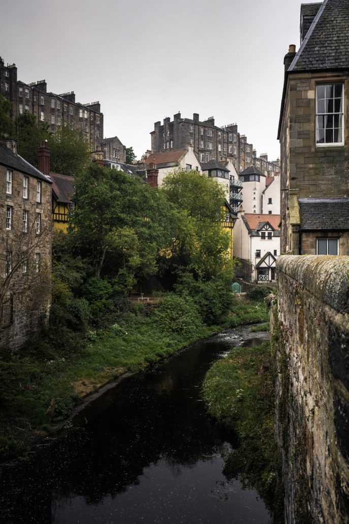 Dean Village am Water Of Leith