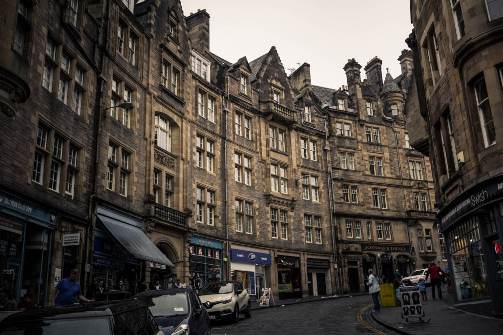 Shoppen in Edinburgh