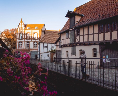Morgens in Quedlinburg