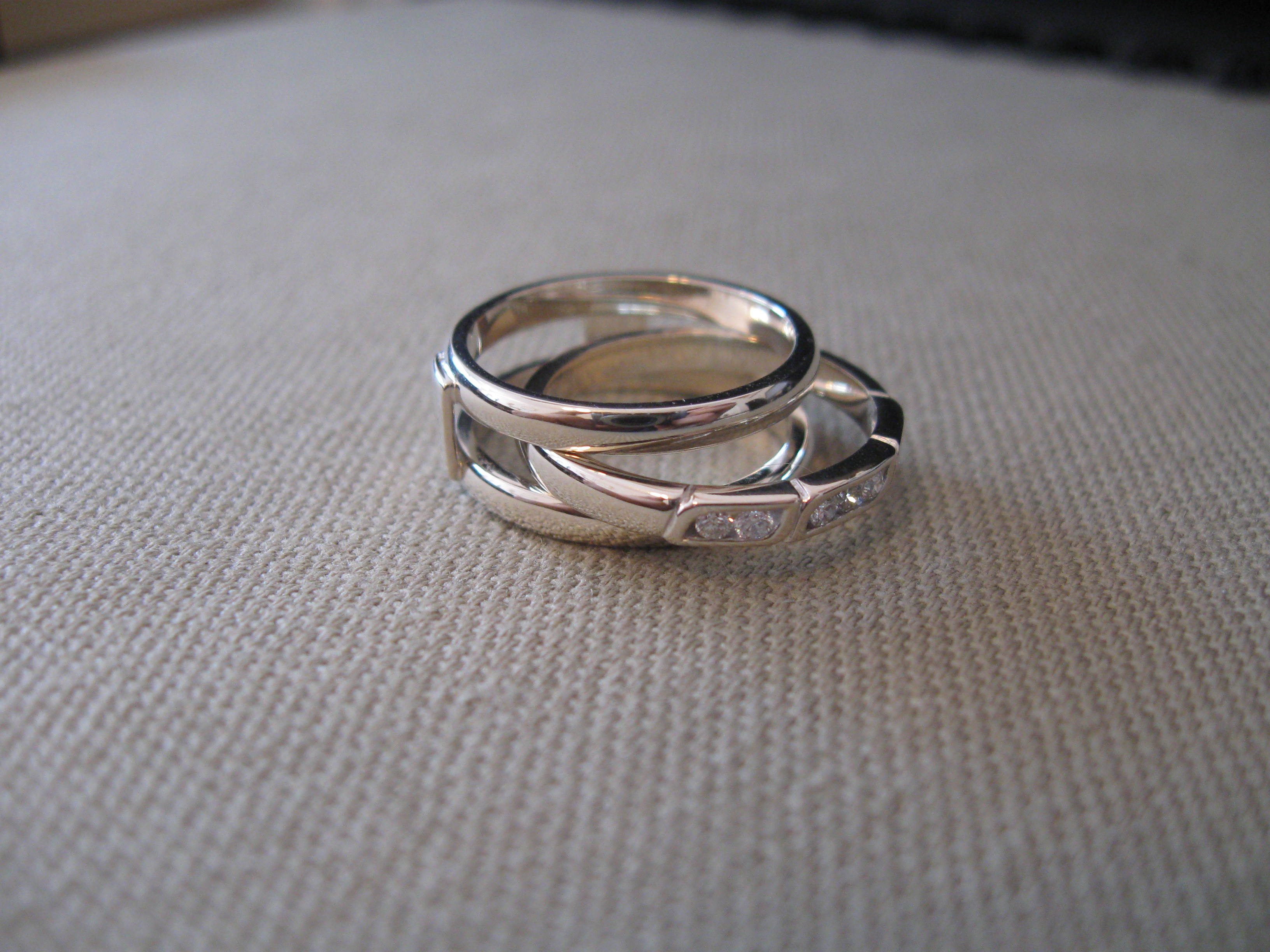Wedding Band with a difference  Chris Cole Jewellery
