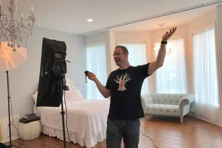 Chris Connelly - Saratoga Boudoir Photographer in the new Ballston Spa studio