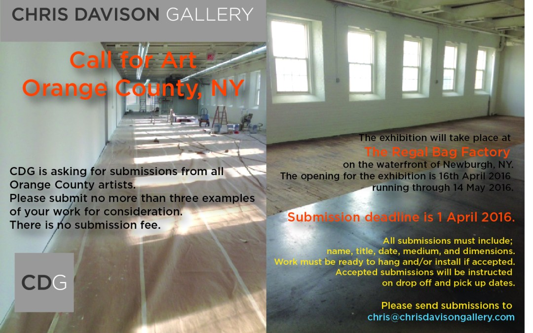 Call To Artists – Orange County, NY Artists