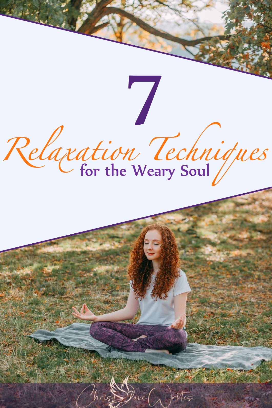 Meditation is one of 7 relaxation techniques