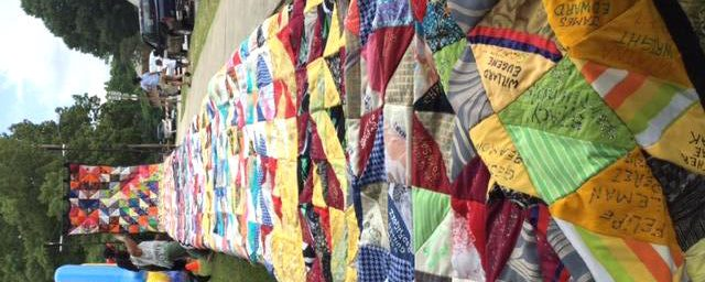I was both amazed and horrified as I approached the quilt