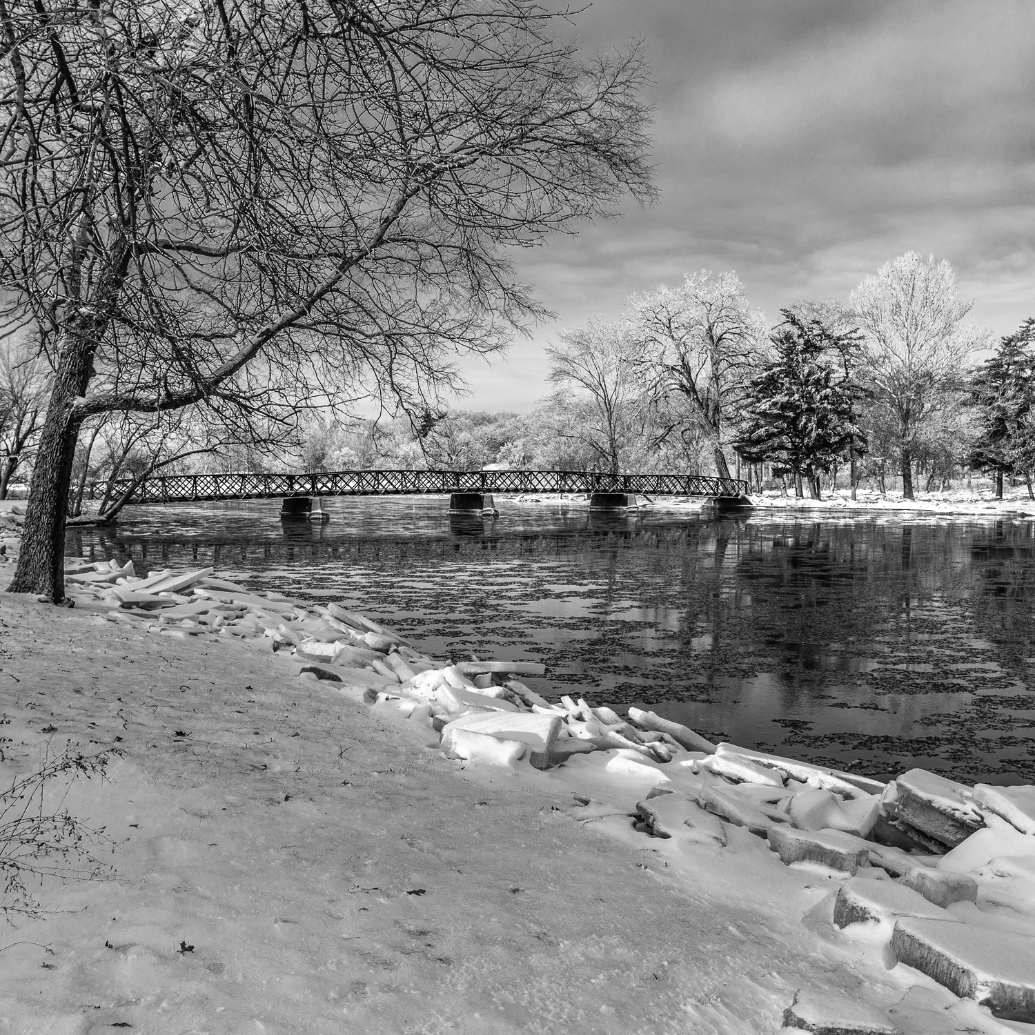 Winter on the Fox River