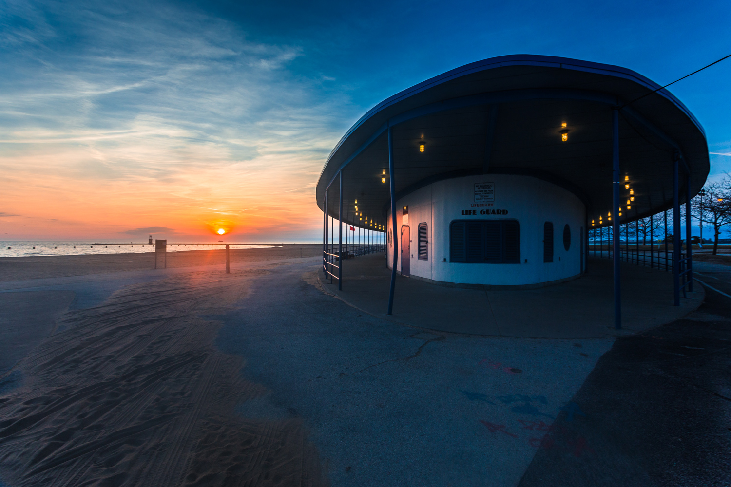 Sunrise at the Guard House