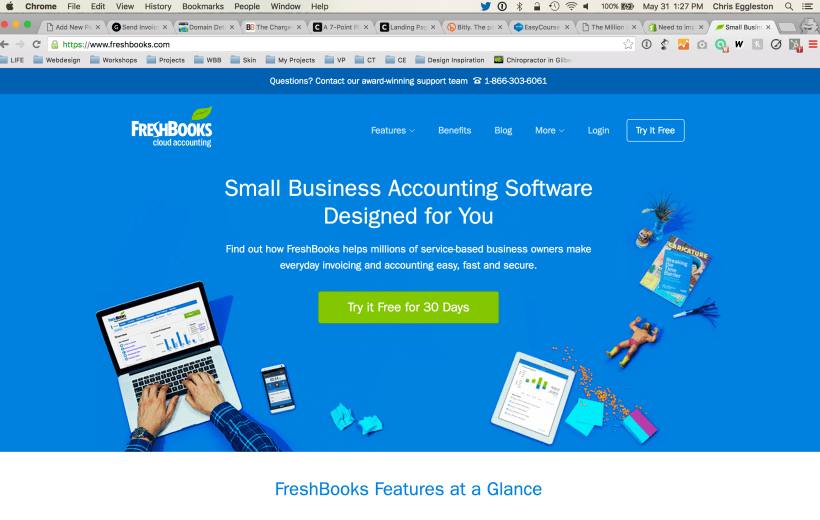 Freshbooks Accounting Software