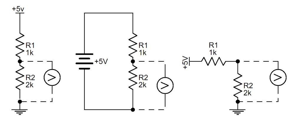 medium resolution of voltage divider schematic