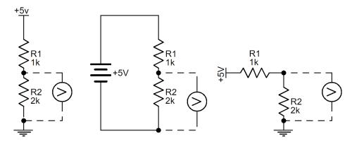 small resolution of voltage divider schematic