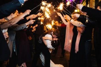 Wedding-Reception-Sparkler-Exit-Opal28-Portland-Oregon 0006