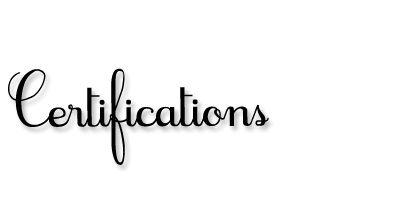 ChrisFreyer.com-Certifications