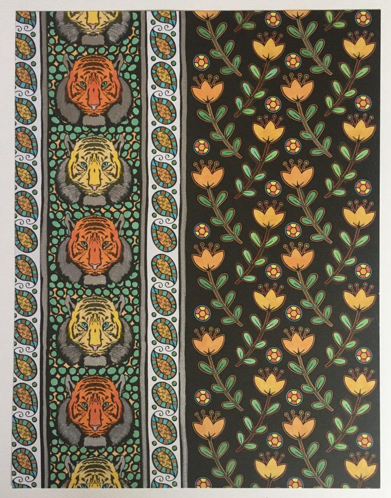 chris-freyer-coloring-27-tiger wallpaper