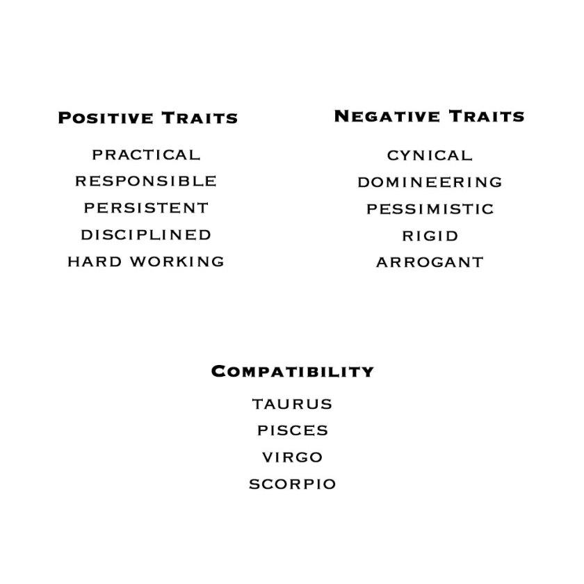 Capricorn-Zodiac-Traits
