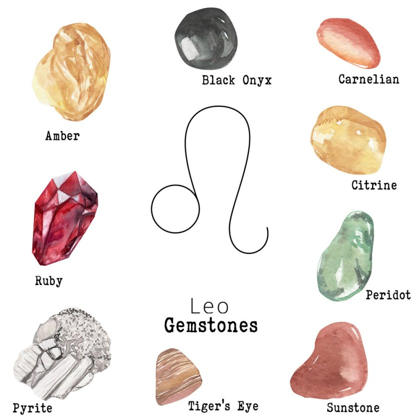 Leo-Gemstones
