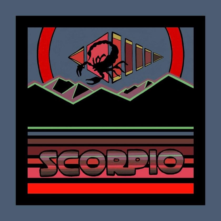 Scorpio artwork by Chris Freyer