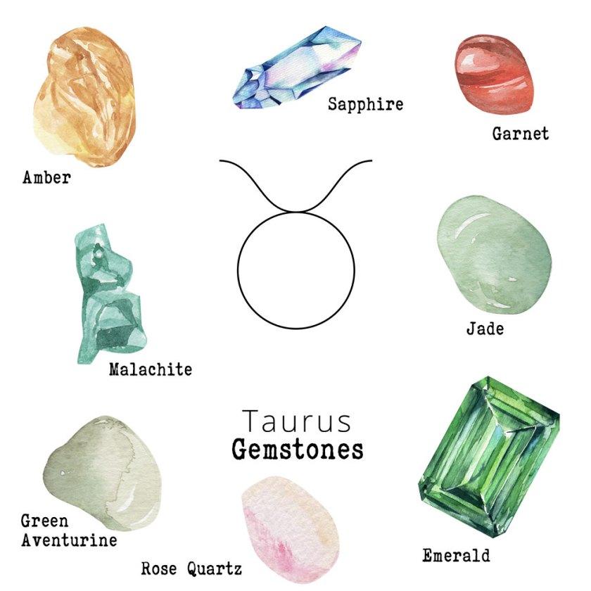 Taurus-Gemstones