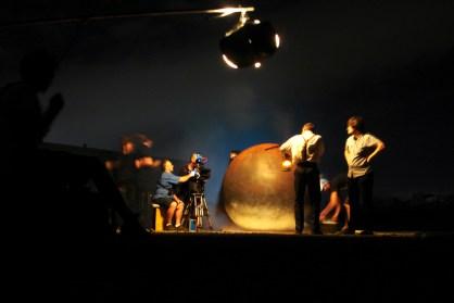"Night shoot.""The Landing"", 2013"