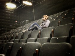 """Director Lucas Stibbard observes rehearsals for """"The Lost Property Rules"""", QPAC 2013"""
